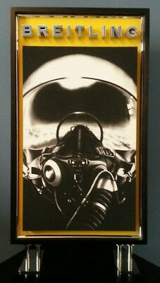Breitling Watches fighter pilot window display-Awesome for mancave!