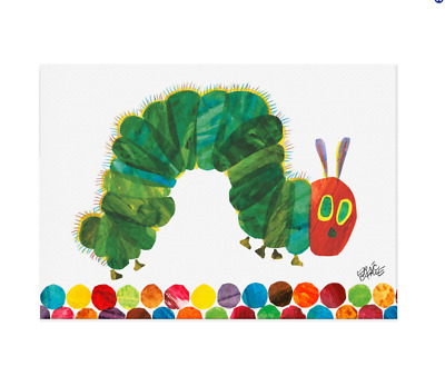 Oopsy Daisy Eric Carle The Very Hungry Caterpillar Canvas Wall Art NEW