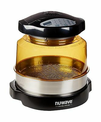 NuWave 20632 Pro Plus Oven with Stainless Steel Extender Ring, Black