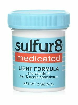 Sulfur8 Medicated Light Formula Anti-Dandruff Hair & Scalp Conditioner, 2 Ounce