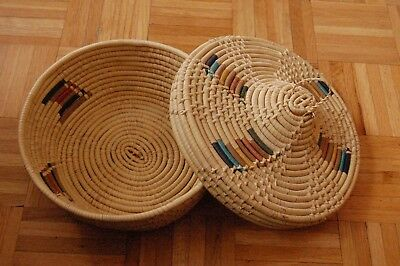 African coil Basket, 20+ years old.