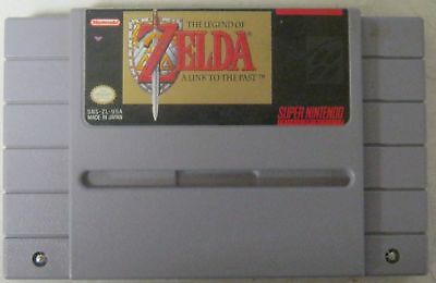 The Legend of Zelda: A Link to the Past *SNES, 1992* *USED* *Cartridge Only*
