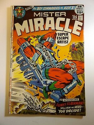 "Mister Miracle #6 ""Funky Flashman!"" 48-Pager!! Sharp VF- Condition!!"