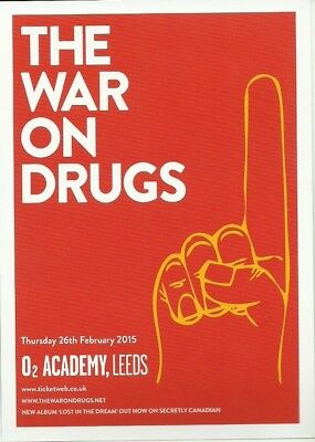 MUSIC FLYER The War on Drugs Leeds O2 Academy 2014 live music PROMO