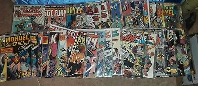 Mixed Marvel Bronze age comics lot of 43