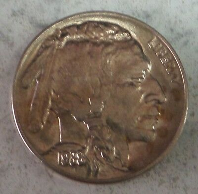 1938 D Buffalo Nickel, Gem BU