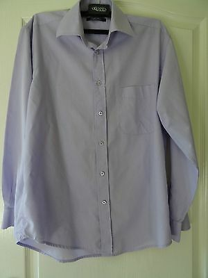 Nice lilac long-sleeved shirt - size 15 collar
