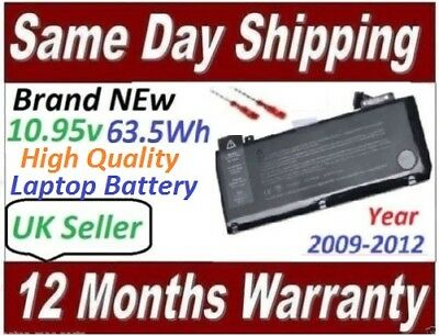 """Battery For Apple MacBook Pro 13"""" A1322 A1278 Mid 2009/2010/2012 MC700 MC374 MB9"""