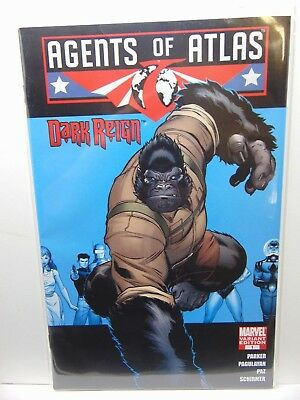 Agents of Atlas #1 Variant Edition Marvel Comics vf/nm CB2874