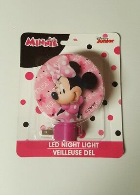 minnie mouse night light Disney Junior LED night light  new in package