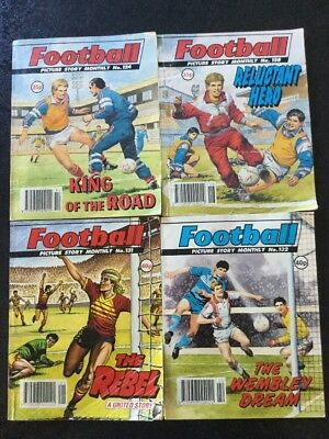 4 Football Picture Story Monthly Comics (3)