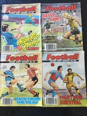 4 Football Picture Story Monthly Comics (4)