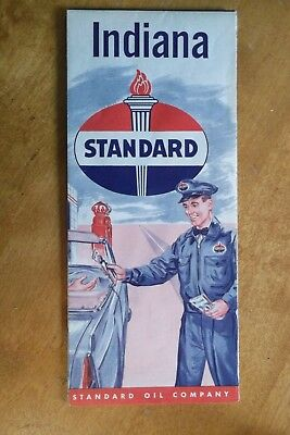 Map- Indiana Standard Oil Company
