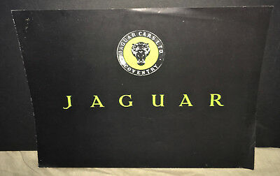 Jaguar Cars - XK120 'C' Type Brochure  / 1991 Factory reprint of 1951 Original