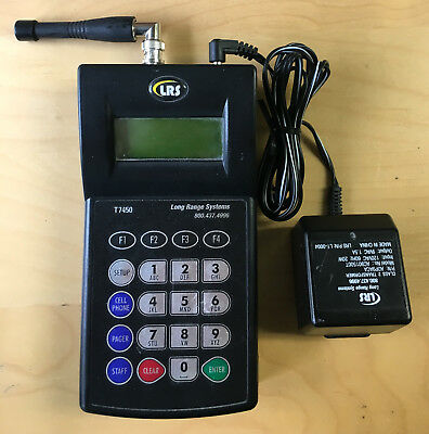 LRS T7450 Long Range Paging System Restaurant Pager Controller Transmitter Unit