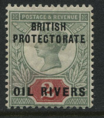 Oil Rivers QV 1892 2d Jubilee overprinted mint o.g.