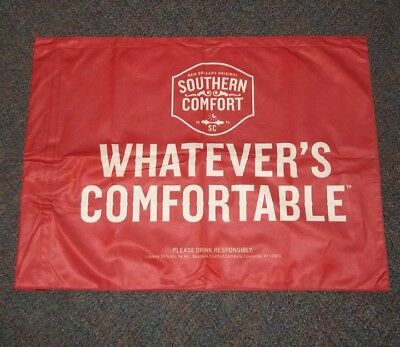"""Red Southern Comfort Whatever's Comfortable Flag - 31""""X 23"""" - New"""