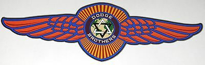 Vintage Dodge Brothers Tribute Decal medium
