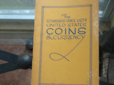 Standard Price List of United States Coins & Currency 1950 look!!!!