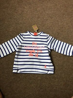 3-6 Months Designer Top By Joules, BNWT