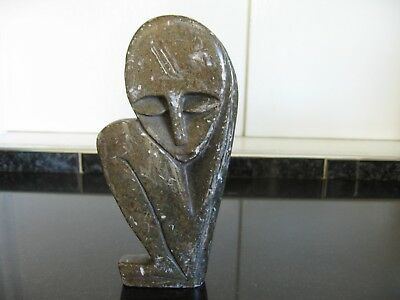 Quirky African Looking Soapstone Figure