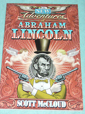THE NEW ADVENTURES OF ABRAHAM LINCOLN / US-TPB / Scott McCloud / Image