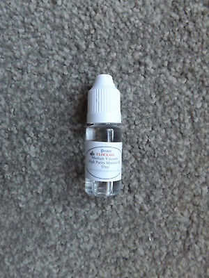 Priory Clock Oil Medium Viscosity 10ml