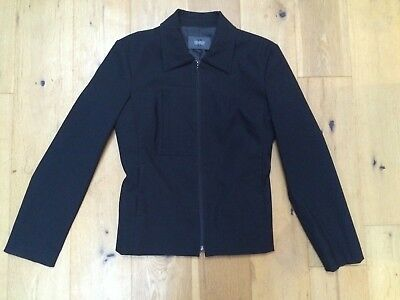 PEARCE FIONDA Black Ladies Tailored Fully Lined Stretch Jacket @ Size 10