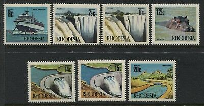Rhodesia 7 definitives 6 cents to 20 cents mint o.g.