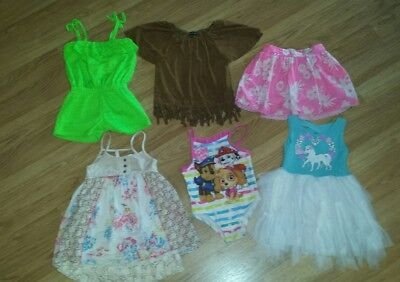 Lot Of Toddler Girls Clothing Size 4T Clothes Spring Summer