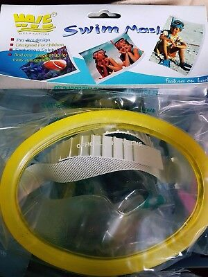 12 x Swim Masks Kids Childs Goggles Job Lot Clearance New Wholesale Carboot