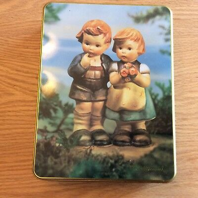 1995 Case Stationary Hummel Collector Tin, Yonkers New York
