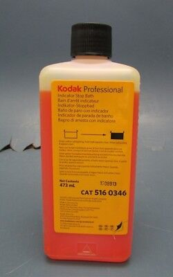 New Bottle of Kodak 5160346 Indicator Stop Bath (Liquid) for Black & White Film