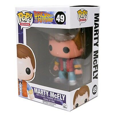 Funko Pop Movies BTTF Back To The Future Marty McFly Figure #49 - Brand New MINT