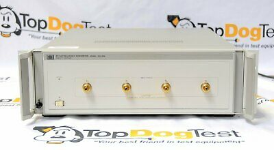 Hp Agilent Keysight 8511A 4-Channel 26.5 GHz Frequency Converter with warranty