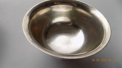 Sterling Silver Paul Revere Bowl 170 H 2 3/4 TALL 4 3/4 AROUND MARKED R AND D