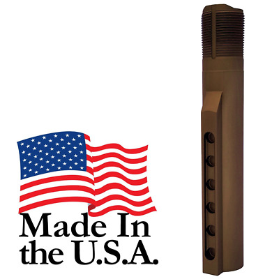 J&E Made in the USA FDE Mil-Spec 6-Position Receiver Extension Buffer Tube