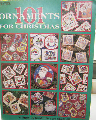 Stickvorlage 101 Ornaments for Christmas Leisure Art