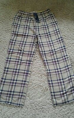 Boden Boys Johnnie B trousers 13/14 years Beige Check