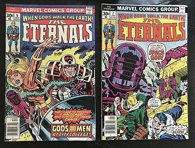 The Eternals lot of 16 Marvel Comics issues #6-#19 '76-'78 + 2-1977 Annuals