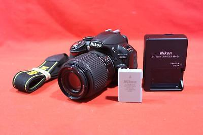 "Nikon D3100 - 14.2MP - 3"" Display - 55-200mm - Black - Digital SLR Camera"