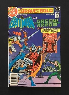 The Brave And The Bold #144! Green Arrow Appearance! 1978! Fn+! Dc Comics!