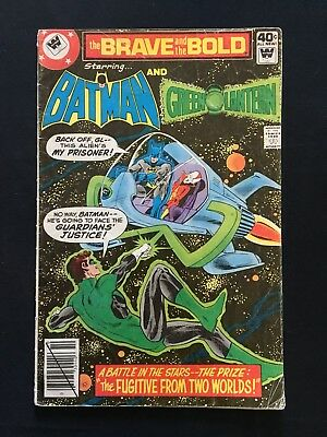 The Brave And The Bold #155 Whitman Variant! Green Lantern Appearance! 1979! Vg-