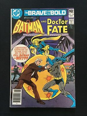 The Brave And The Bold #156! Doctor Fate Appearance! 1979! Vg! Dc Comics!