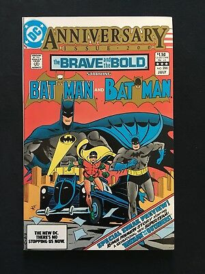 The Brave And The Bold #200! 1St Appearance Batman & The Outsiders! 1983! Fn/vf!