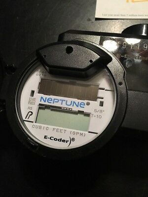 Neptune E-Coder R900M v4 Water Meter NEW NO BOX