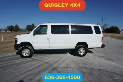 Ford E-Series Van Recreational 2013 Recreational Used 5.4L V8 16V Automatic 4wd passenger Quigley extended van