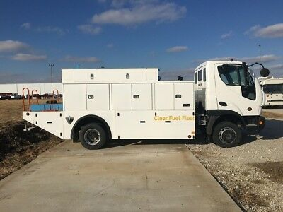 2010 Smith Altec Service Utility Truck Isuzu Hino Cab Over Electric Truck Used