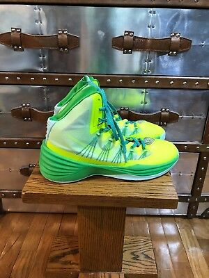 innovative design 3c497 6206f Nike Hyperdunk 2013 Basketball Shoes Flash Lime Electric Green Gamma Green  US 12