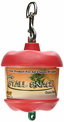 Horsemen's Pride Stall Snack Holder with Carrot Flavored Refill Durable Shape